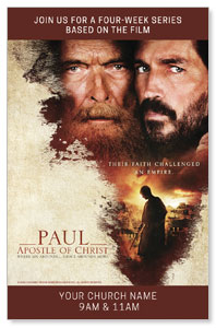 Paul, Apostle of Christ Medium InviteCards