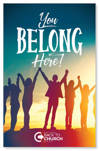 BTCS You Belong Here InviteCards