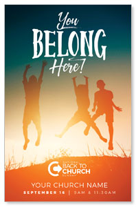 BTCS You Belong Here Kids Medium InviteCards