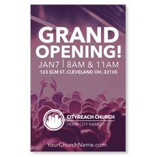 CityReach Plum InviteCard