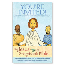 Jesus Storybook Bible InviteCard