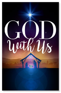 God With Us Advent InviteCards
