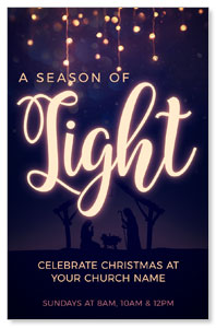 Season of Light InviteCards