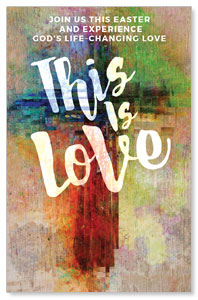 This is Love Easter Medium InviteCards