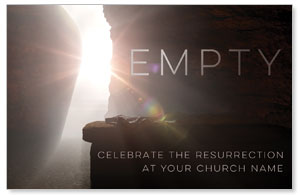 Empty Tomb Open Medium InviteCards