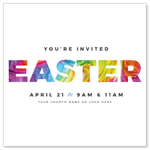 CMU Easter Invite 2019 InviteCards