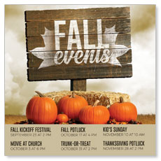 Fall Events Pumpkins