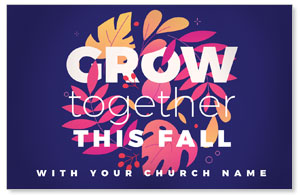 Grow Together Fall Medium InviteCards