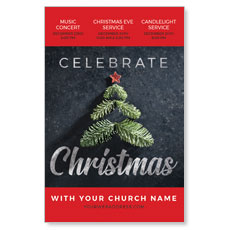 Christmas Sprig Tree InviteCard