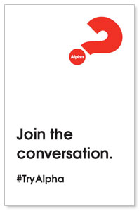 Alpha Join The Conversation Medium InviteCards