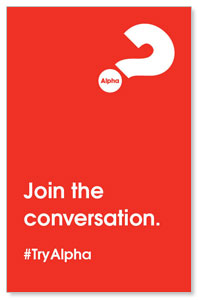 Alpha Join The Conversation Red Medium InviteCards