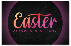 Easter Color Tomb Medium InviteCards