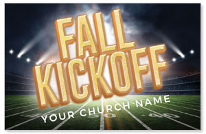 Fall Kickoff Stadium Medium InviteCards