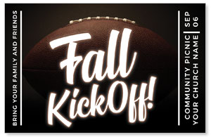Kickoff This Fall Medium InviteCards