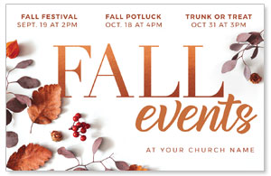 Fall Events Nature Medium InviteCards