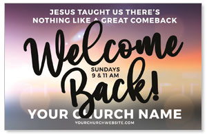 Jesus Comeback Medium InviteCards
