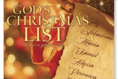 God's Christmas List JumboCard