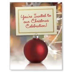 Ornament Invitation JumboCard