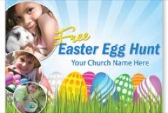 Free Egg Hunt JumboCard