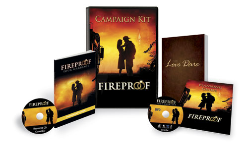 Campaign Kits, Fireproof and Love Dare, Fireproof Campaign Kit
