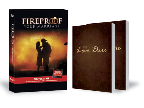 Small Groups, Fireproof and Love Dare, Love Dare & Couple's Study Bundle