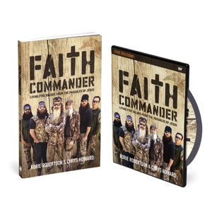 Faith Commander Small Group DVD Study  StudyGuide