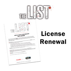 The List Movie Movie License Package