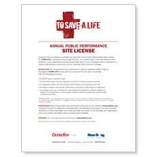 To Save a Life Movie License Package