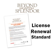 Beyond the Gates of Splendor Movie License Package