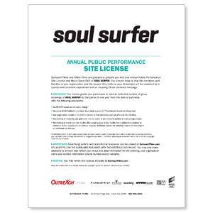 Soul Surfer Movie Event Movie License Renewals