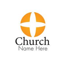 Open Circle Semi Custom Logo Logo