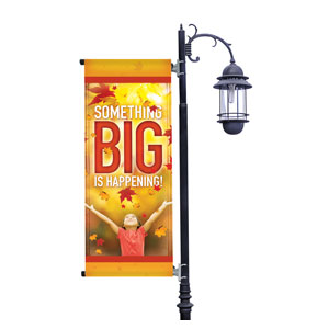 Something Big Light Pole Banners
