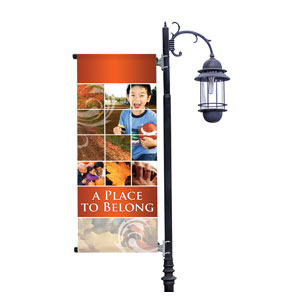Belong Fall Light Pole Banners