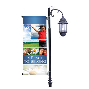 Belong Summer Light Pole Banners