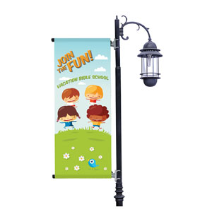 VBS Join the Fun Light Pole Banner Light Pole Banners