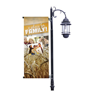 A Place for Family Fall Banners