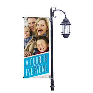 Everyone Family Light Pole Banners