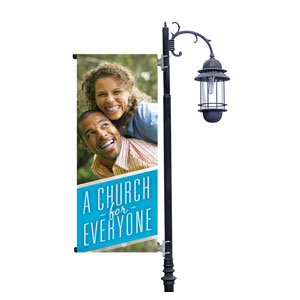 Everyone Couple Light Pole Banners