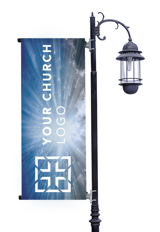 Banners, Spring - General, Sunrays Logo, 2' x 5'
