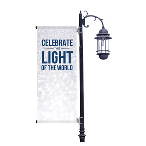 Sparkle Celebrate Light Light Pole Banners