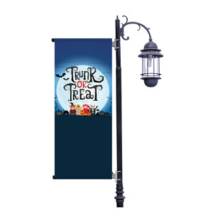Trunk or Treat Kids Light Pole Banners