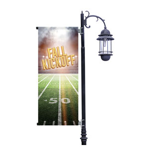 Fall Kickoff Stadium Light Pole Banners