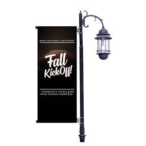 Kickoff This Fall Light Pole Banners