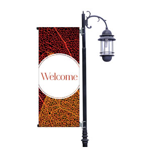 Fall Modern Circle Light Pole Banners