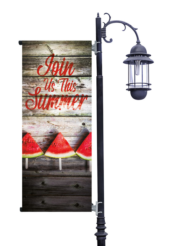 Banners, Summer - General, Summer Watermelon Events, 2' x 5'