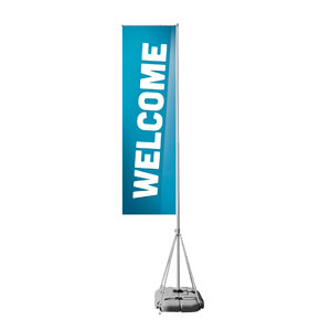 Family Welcome Mega Flag