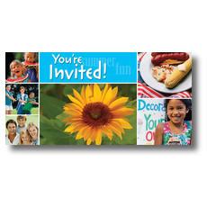 Summer Days XLarge Postcard