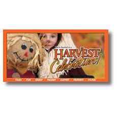 Scarecrow XLarge Postcard