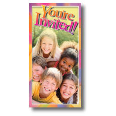 Kids Pyramid XLarge Postcard