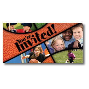 "Kids Sports 11 x 5.5 Oversized Postcard 11"" x 5.5"" Oversized Postcards"